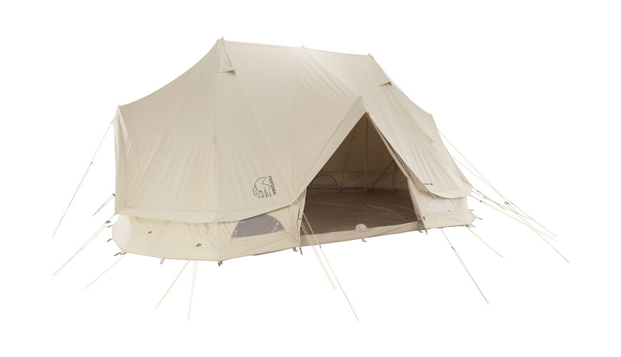 Nordisk Vanaheim 24 m² Telt Technical Cotton beige